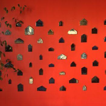 Image of Maria Amalia's mosaics on wall